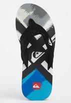 Quiksilver - Foundation Flip Flop Black and Blue