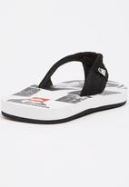Quiksilver - Foundation Flip Flop Black and White