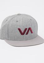 RVCA - VA Snapback  Cap Grey