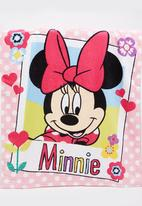 Character Fashion - Minnie Mouse Hooded  Towl Multi-colour
