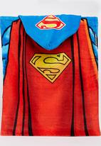Character Fashion - Superman  Hooded  Towl Multi-colour