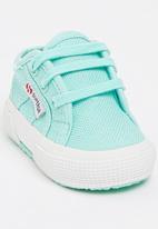 SUPERGA - Canvas Sneaker Light Green