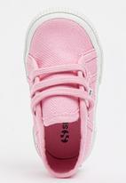 SUPERGA - Canvas Sneaker Mid Pink