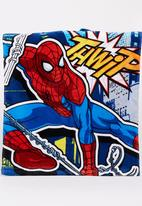 Character Fashion - Spiderman Hooded  Towl Multi-colour