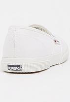 SUPERGA - Canvas Pump White
