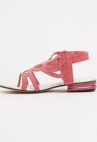 Footwork - Tiana Flat Sandal Mid Pink