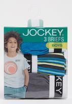 Jockey - 3 Pack Fancy Jockey Briefs Blue