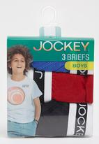 Jockey - 3 Pack Plain Jockey Briefs Blue