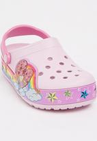 Crocs - Crocslights Rainbow Heart Clog K Pale Pink