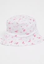 Baby Corner - Flamingo Sun Hat Pale Pink