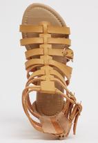 Rock & Co. - Gladiator  Sandal Tan