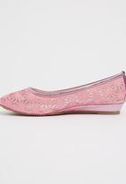 Footwork - Nia  Ballerina Pump Mid Pink