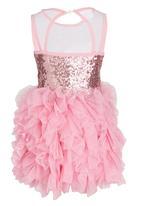 POP CANDY - Girls Princess  Dress Mid Pink