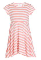 See-Saw - Pleated Dress Mid Pink