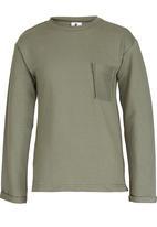 Rebel Republic - Sweater with Pocket Khaki Green