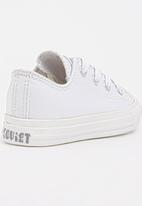 SOVIET - Low Top Mono   Sneaker White