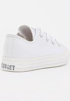 SOVIET - Low Top   Mono Sneaker White