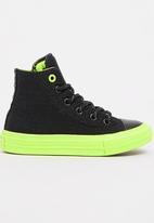 Converse - Sheild Canvas High Top  Sneaker Black