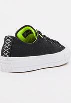 Converse - Sheild Canvas OX  Sneaker Black