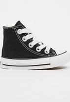 SOVIET - High Top Canvas Sneaker Black
