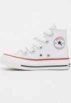 SOVIET - High Top Canvas Sneaker White