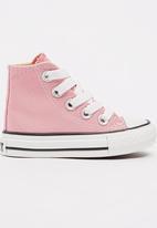 SOVIET - High Top Canvas Sneaker Pale Pink