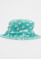 Baby Corner - Sheep  Sun Hat Mid Green