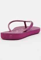Roxy - Viva Glitter Flip Flops Mid Purple