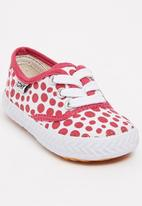TOMY - Infants Lace Canvas Mid Pink
