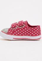 TOMY - Infants Velcro Strap Sneaker Mid Pink