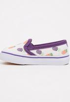 TOMY - Infants Printed Strawberry  Sneaker White