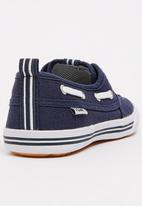 TOMY - Infants Lace Canvas Blue