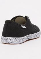 TOMY - Infants Lace Canvas Black