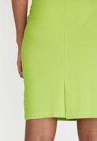 Sensation - Pencil Skirt Green