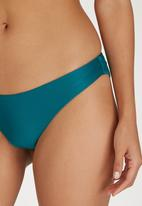RVCA - Low–Rise Cheeky Bottoms Blue