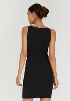 ONLY - Side Cut-Out Midi Dress Black