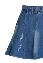 POP CANDY - Girls Denim  Skirt Blue