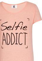 Rebel Republic - Selfie Night Dress Orange