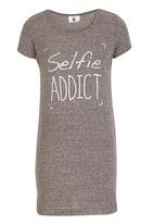 Rebel Republic - Selfie Night Dress Grey