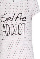 Rebel Republic - Selfie Night Dress Multi-colour