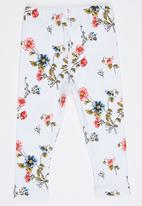 POP CANDY - Floral Printed Leggings Multi-colour