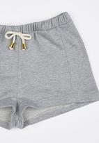 See-Saw - Fleece Shorts Grey