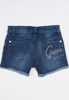 GUESS - Denim Short Blue