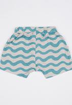 POP CANDY - Boys Printed Shorts Blue