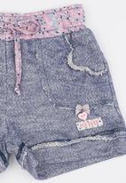Eco Punk - Fleece Shorts Blue