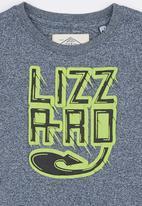 Lizzard - Printed Tee Navy