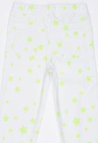 Soobe - Printed Stars Jegging White
