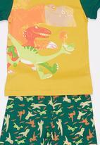 POP CANDY - Boys  Printed Pajayma Set Multi-colour