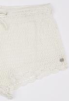 Billabong  - Shambala Crochet Short White