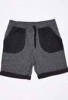 Rebel Republic - Jogger Shorts Black
